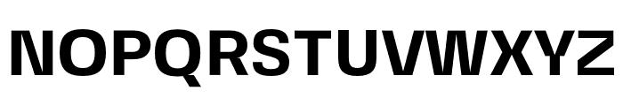 FivoSansModern-Bold Font UPPERCASE