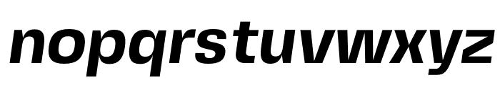 FivoSansModern-BoldOblique Font LOWERCASE