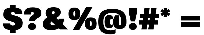 FivoSansModern-ExtraBlack Font OTHER CHARS