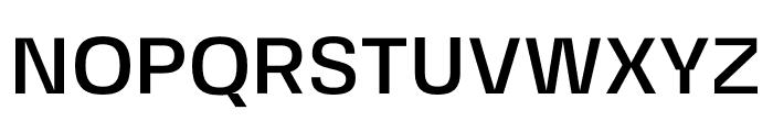 FivoSansModern-Medium Font UPPERCASE