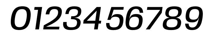 FivoSansModern-MediumOblique Font OTHER CHARS