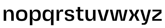 FivoSansModern-Medium Font LOWERCASE