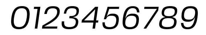 FivoSansModern-Oblique Font OTHER CHARS