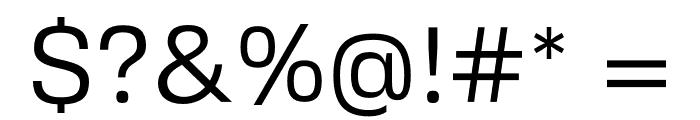 FivoSansModern-Regular Font OTHER CHARS