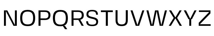 FivoSansModern-Regular Font UPPERCASE