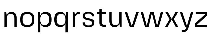 FivoSansModern-Regular Font LOWERCASE