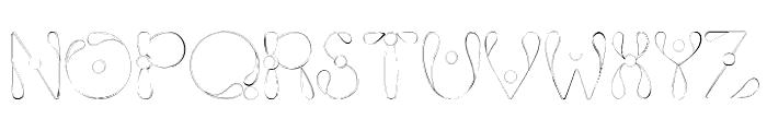 Fixie Font UPPERCASE