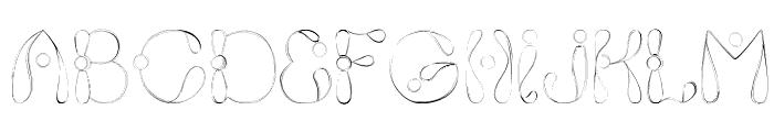 Fixie Font LOWERCASE