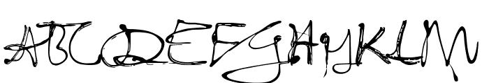 Fixogum-Regularreduced Font UPPERCASE