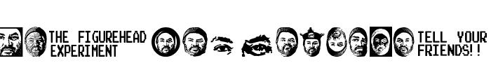 figurehead font Font LOWERCASE