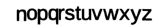 firsta Font LOWERCASE