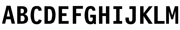Financial Bold Font UPPERCASE