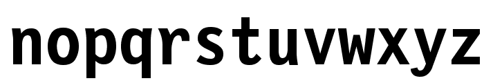 Financial Bold Font LOWERCASE