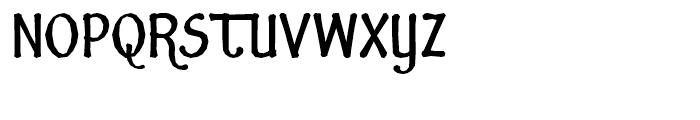 Fidelma Extra Bold Font UPPERCASE