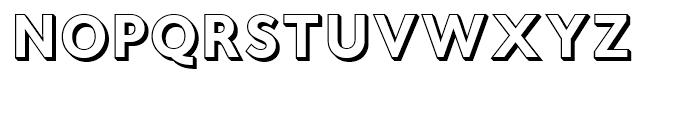 Fiendstar Shaded Font UPPERCASE