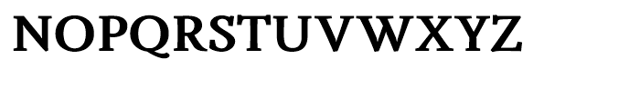 Fiesole Caption Black Font UPPERCASE