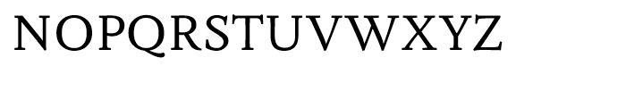 Fiesole Caption Font UPPERCASE