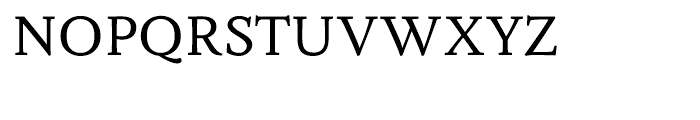 Fiesole Text Font UPPERCASE