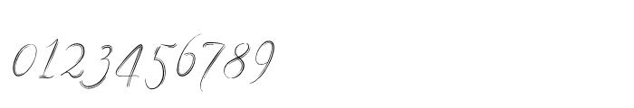 Filigree Regular Font OTHER CHARS