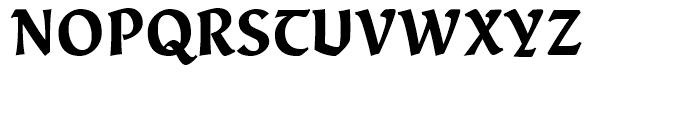 Fine Gothic Black Font UPPERCASE