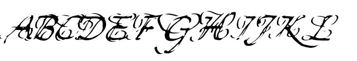 Finito Regular Font UPPERCASE