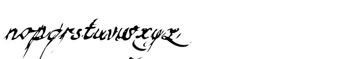 Finito Regular Font LOWERCASE