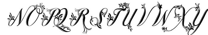 Fiorentina Regular Font UPPERCASE