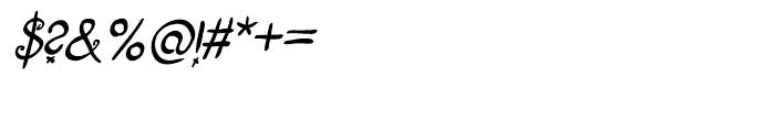 Fizgiger Alternate Bold Oblique Font OTHER CHARS