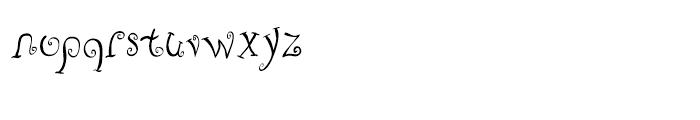 Fizgiger Alternate Font LOWERCASE