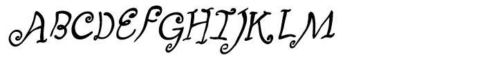 Fizgiger Bold Oblique Font UPPERCASE
