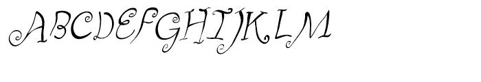 Fizgiger Oblique Font UPPERCASE