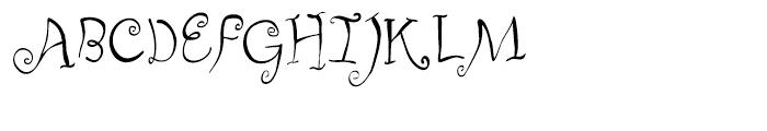 Fizgiger Regular Font UPPERCASE