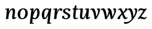 Fiesole Caption Bold Italic Font LOWERCASE