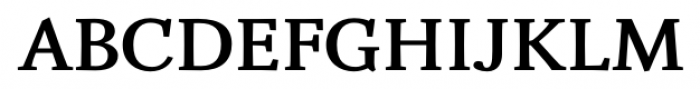 Fiesole Caption Heavy Font UPPERCASE