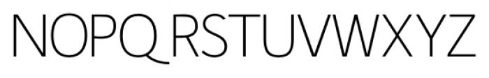 Fitz Sans SRF Regular Font UPPERCASE