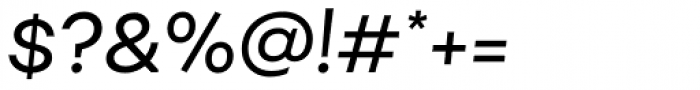 Fibra Alt Regular Italic Font OTHER CHARS