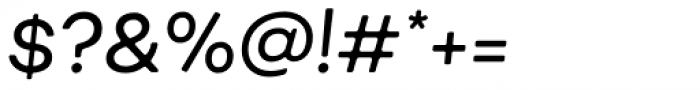 Fibra One Alt Regular Italic Font OTHER CHARS