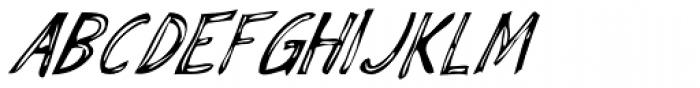 Fiddleshticks Italic Font UPPERCASE