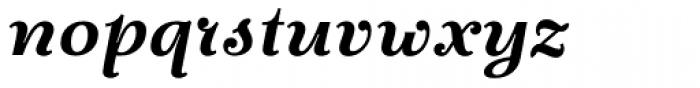 Fidelia Script Bold Font LOWERCASE