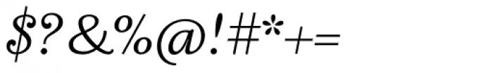 Fidelia Script Light Font OTHER CHARS
