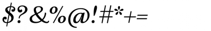 Fidelia Script Regular Font OTHER CHARS