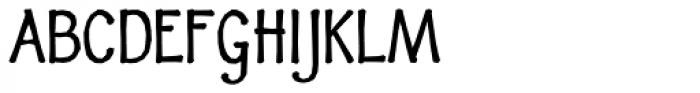 Fidelma Bold Font UPPERCASE