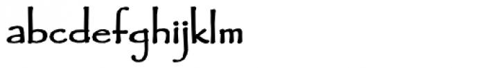 Fidelma Bold Font LOWERCASE