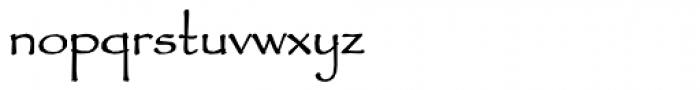 Fidelma Font LOWERCASE
