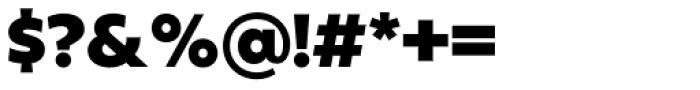 Fieldwork Hum Black Font OTHER CHARS
