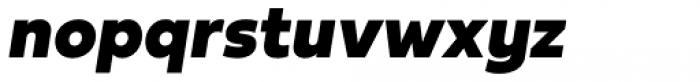 Fieldwork Italic Black Font LOWERCASE