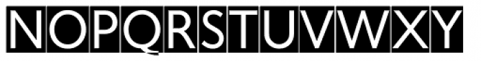 Fiendstar Cameo Font LOWERCASE
