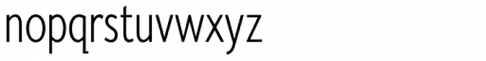Fiendstar Light Condensed Font LOWERCASE