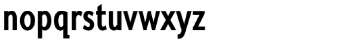 Fiendstar SemiBold Condensed Font LOWERCASE