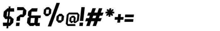 Fierro Italic Font OTHER CHARS